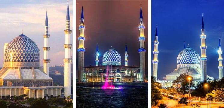 masjid menarik shah alam selangor