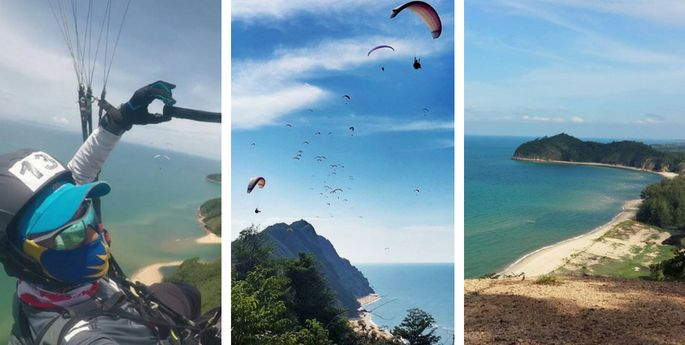 kota putra paragliding besut