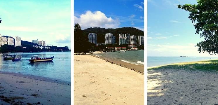pantai di pulau pinang