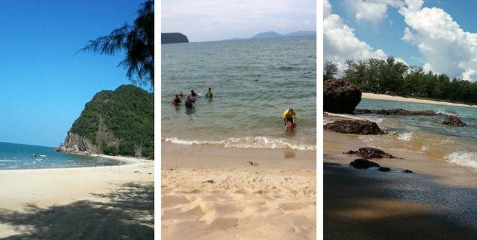 pantai bukit kluang besut