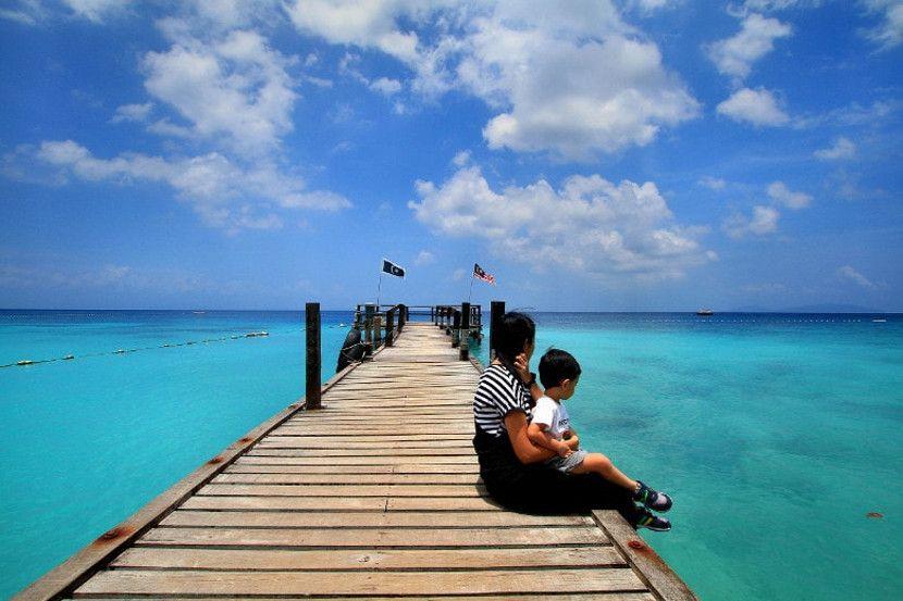 pantai peranginan menarik malaysia