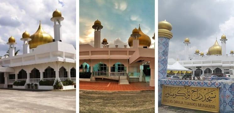 masjid seri menanti negeri sembilan