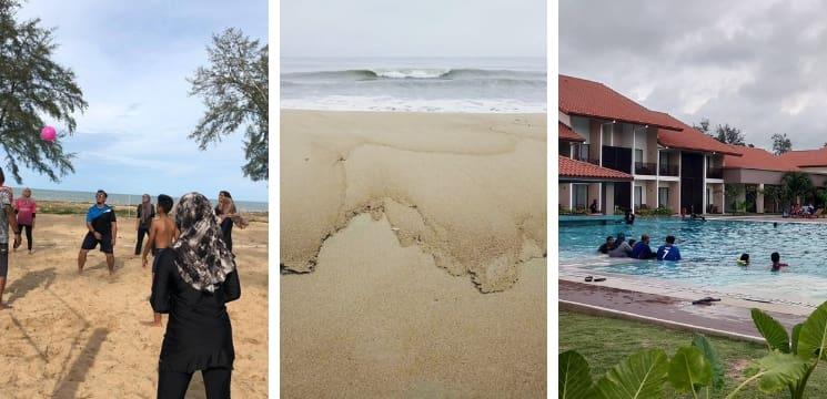 resort menarik pantai lanjut pahang