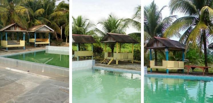 kolam air panas perubatan trong