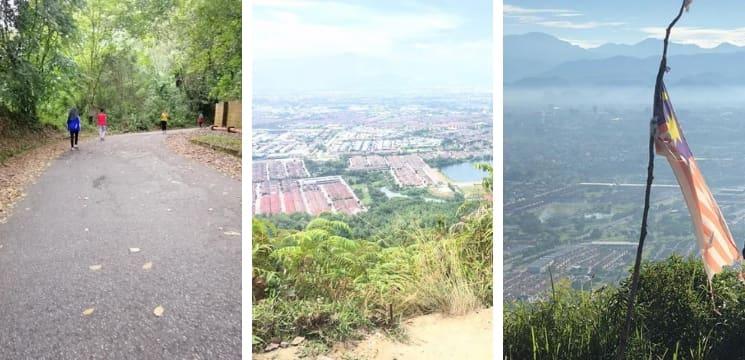 tempat hiking best perak