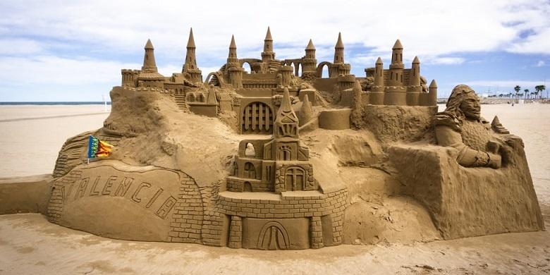 redang sand castle