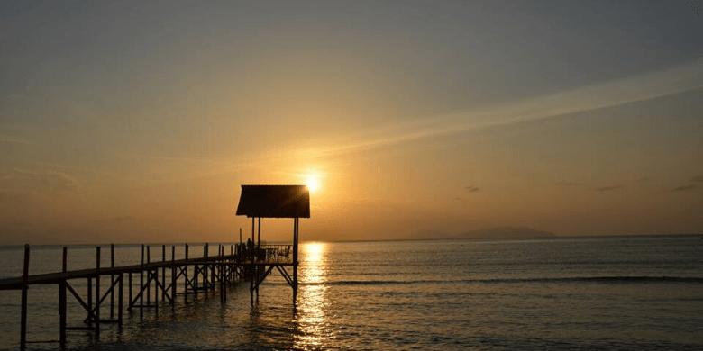 Pulau Lang Tengah - Melihat Matahari Terbenam