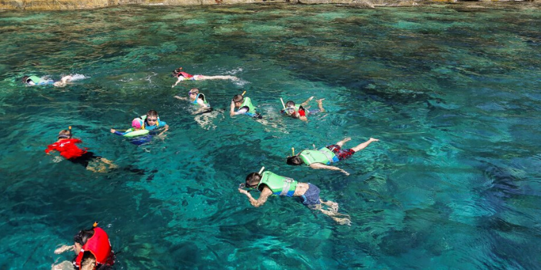 Pulau Lang Tengah - Menyelam Permukaan (Snorkelling)
