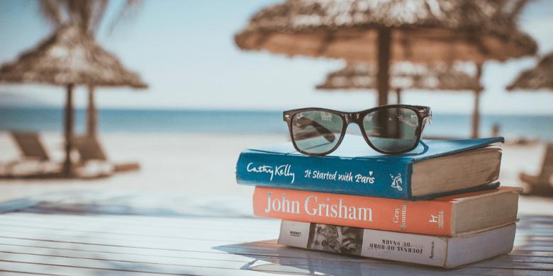 Berehat Sambil Ditemani Buku