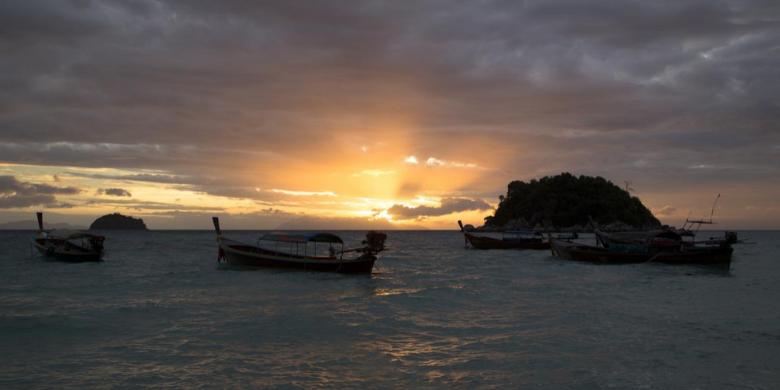 Koh Lipe - Melihat Matahari Terbit