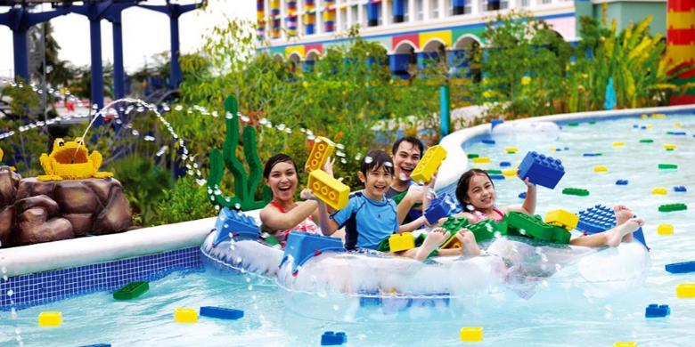Legoland Malaysia Johor - Build-A-Raft