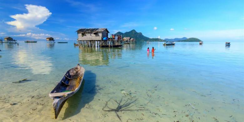 Pulau Mabul - Lawati Perkampungan Bajau Laut