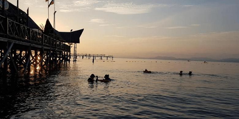 Pulau Mabul - Menyelam Permukaan (Snorkeling)