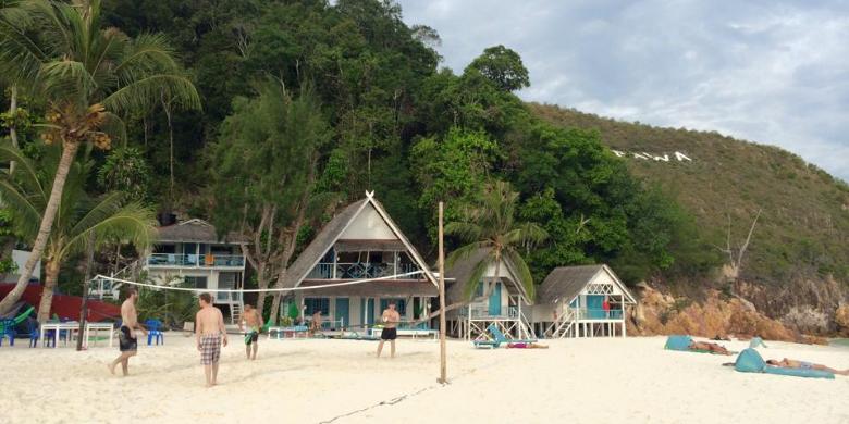 Pulau Rawa - Bola Tampar Pantai (Beach Volleyball)