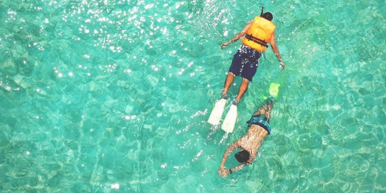 Pulau Rawa - Menyelam permukaan (Snorkeling)