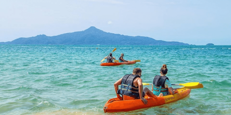 Pulau Sibu - Berkanu (Canoeing)