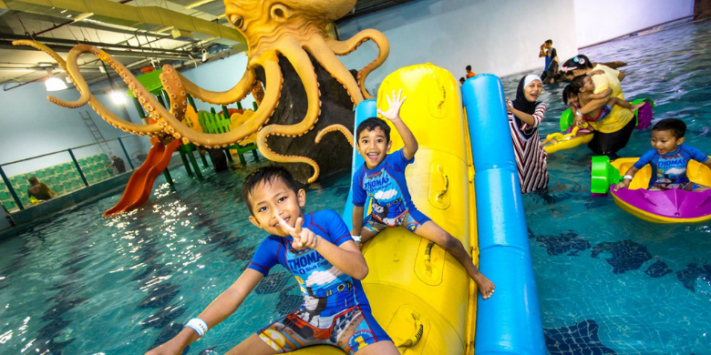 Tiram Indoor Water Park (Near Aeon Tebrau City JB)