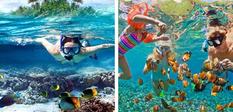 Snorkeling di Pulau Pangkor