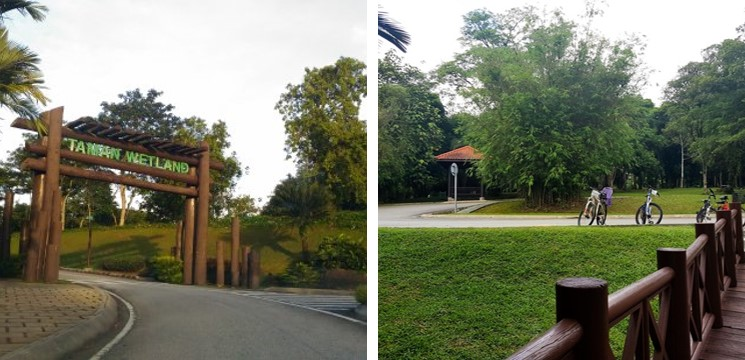 basikal 2 taman wetland