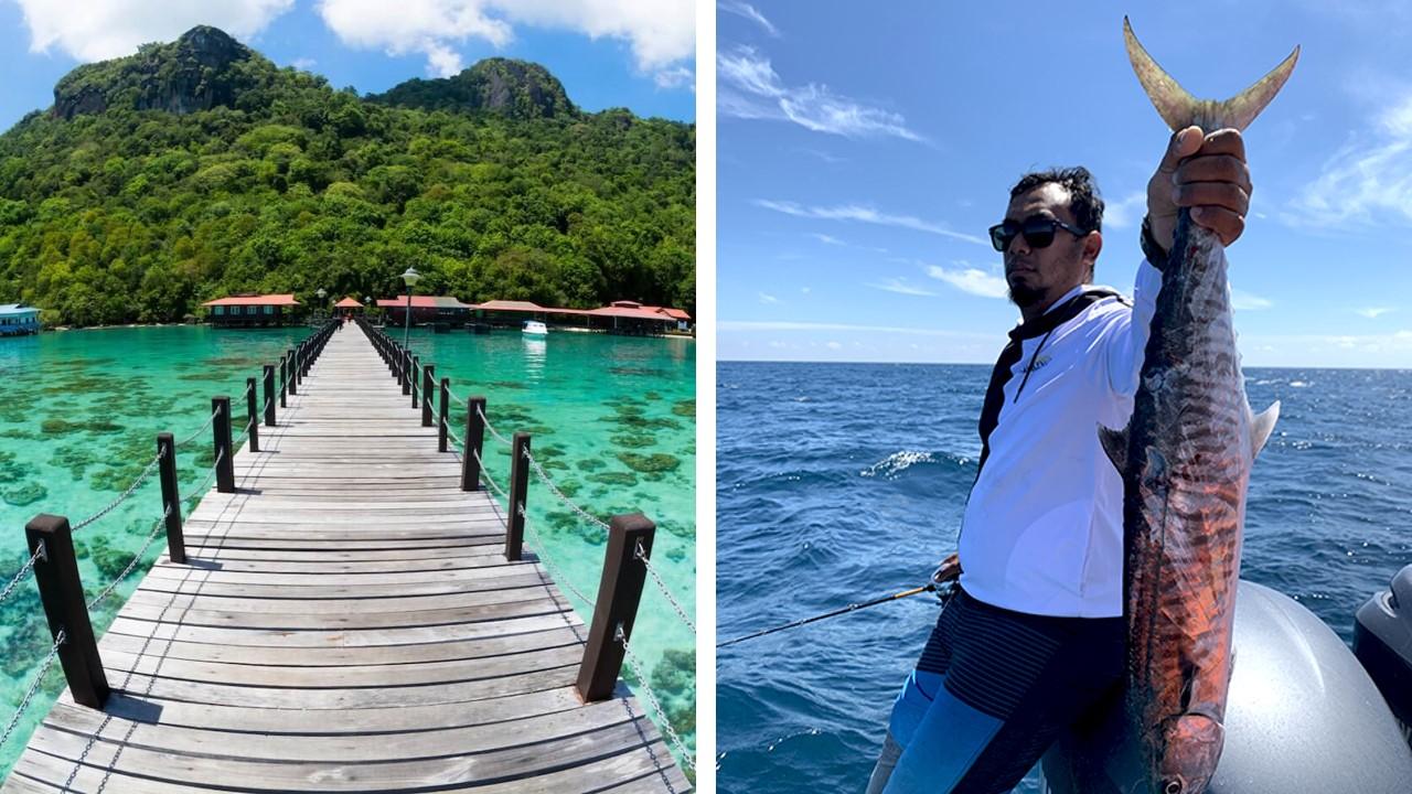 pulau tioman pancing