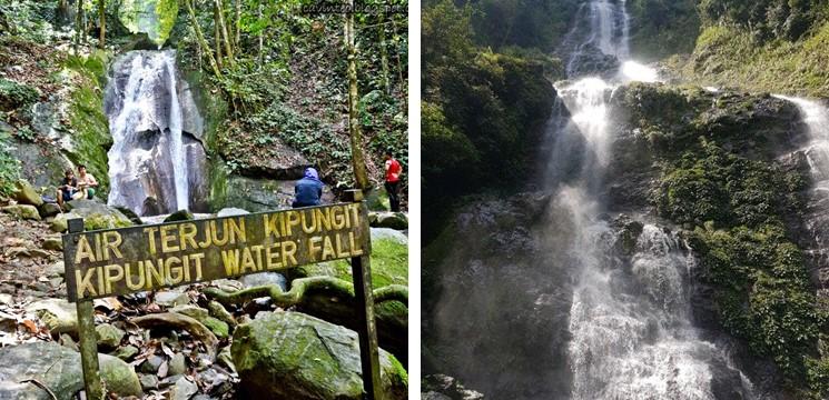 Kipungit & Langganan Waterfall