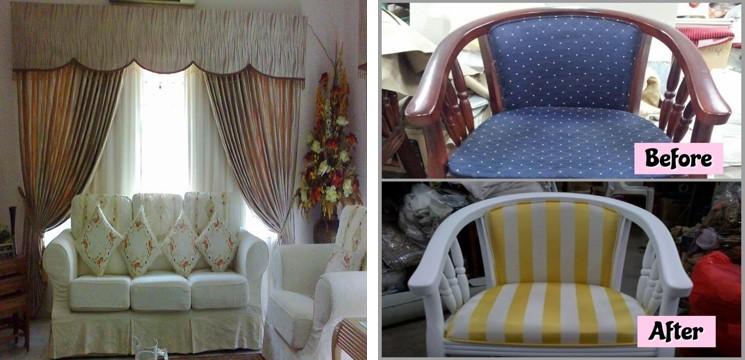 Kerusi dan sofa repair