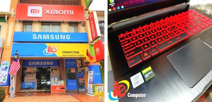 Kedai komputer terkenal di Seremban
