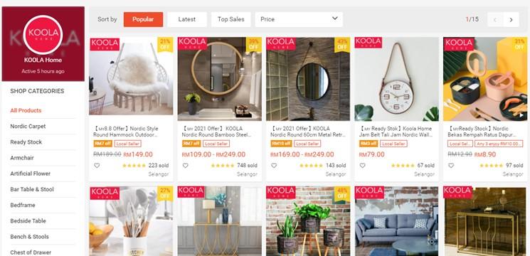 KOOLA Home Online Shop Shopee Malaysia