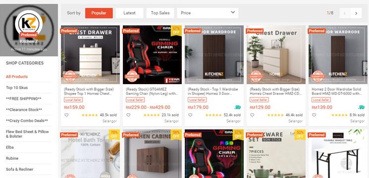 Kitchen Z Online Shop Shopee Malaysia