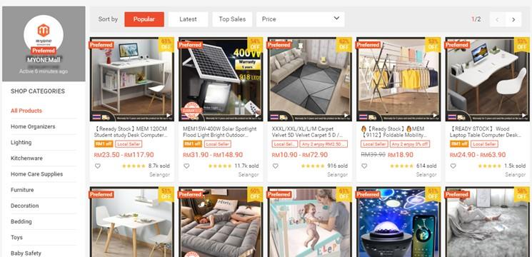 MYONEMall Online Shop Shopee Malaysia