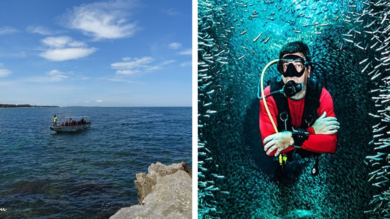 pulau layang-layang diving