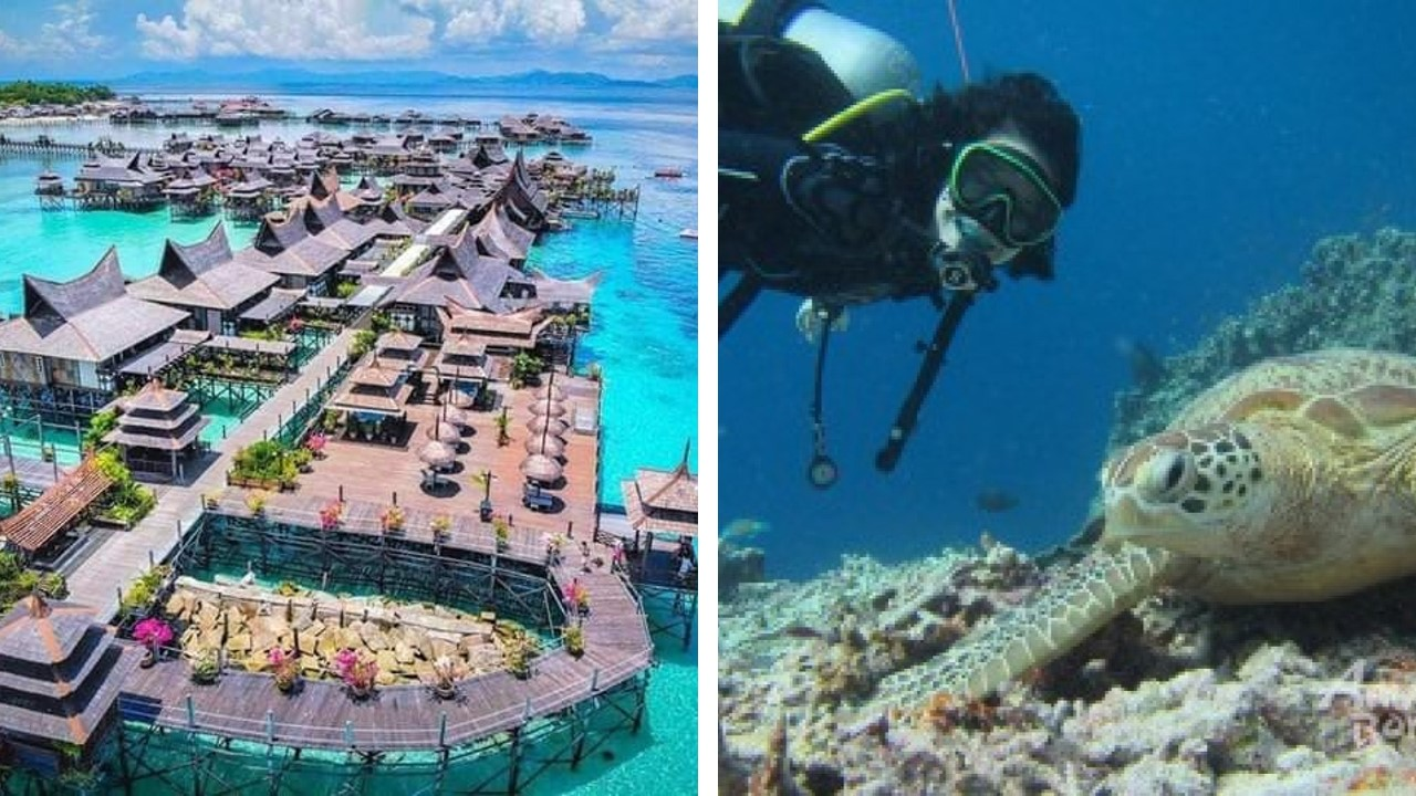 pulau mabul diving