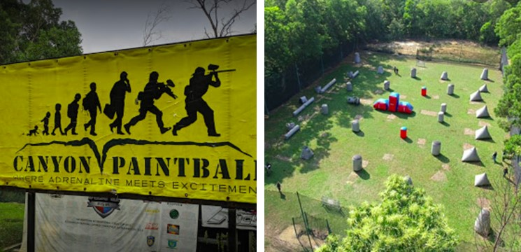 Canyon Paintball Park