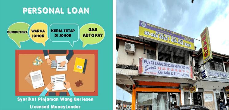 pinjaman untuk rakyat Johor