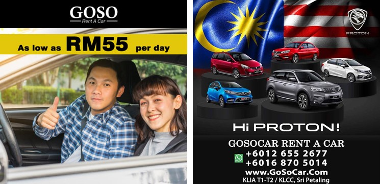 GoSo Rent A Car Kuala Lumpur