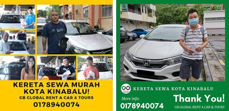 Kereta Sewa GB Global Rent a Car & Tours Sdn Bhd