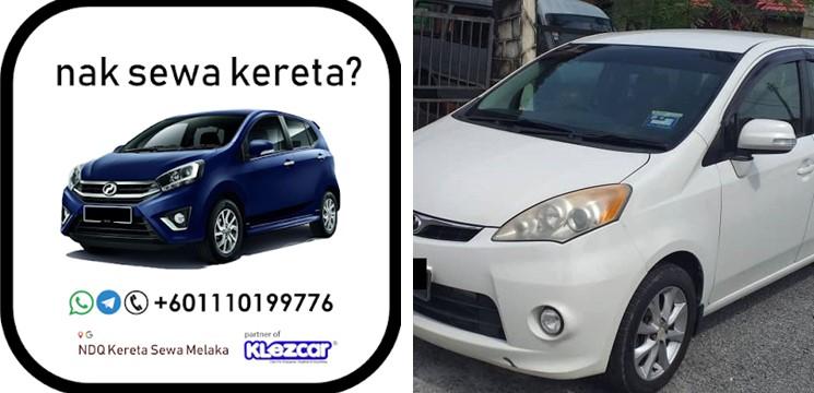 NDQ Car Rental Melaka