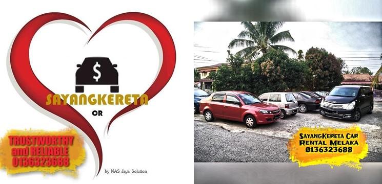 SayangKereta-Sewa Kereta & Sewa MPV Melaka