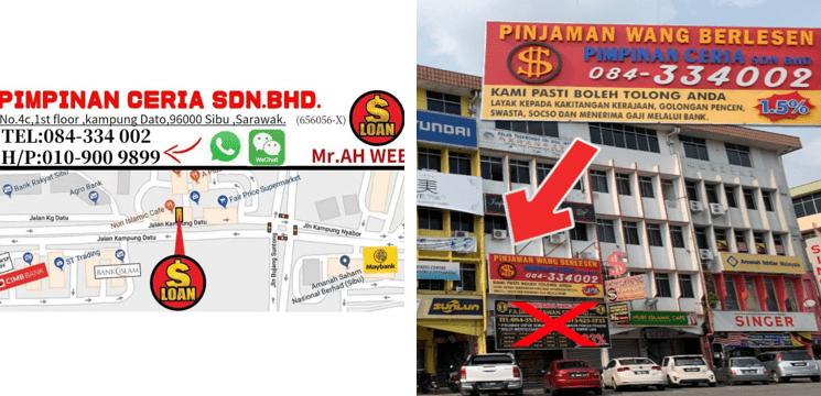 pinjaman Pimpimam Ceria Sdn Bhd