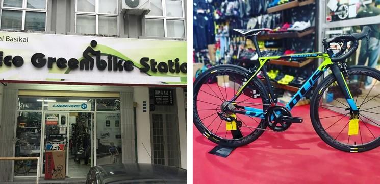 eco greenbike station