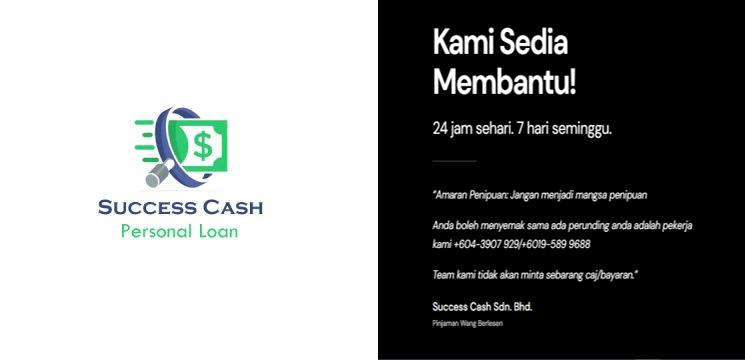 Pinjaman bermula dari RM 1,000