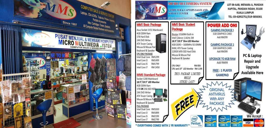 Kedai Komputer Micro Multimedia System