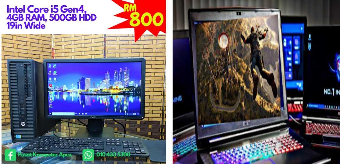 APEX COMPUTER GOMBAK